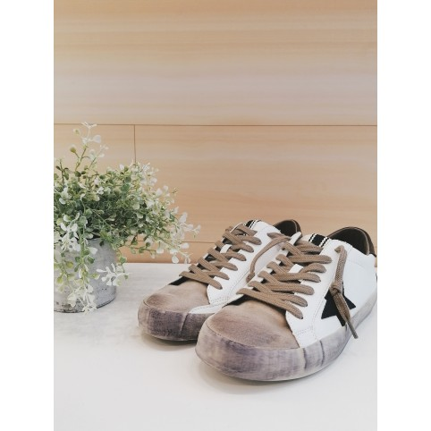 SNEAKERS STAR CHOCOLATE