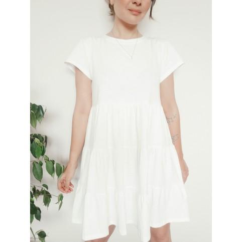 WHITE TEE DRESS