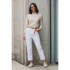 JEANS RELAXED BLANCOS
